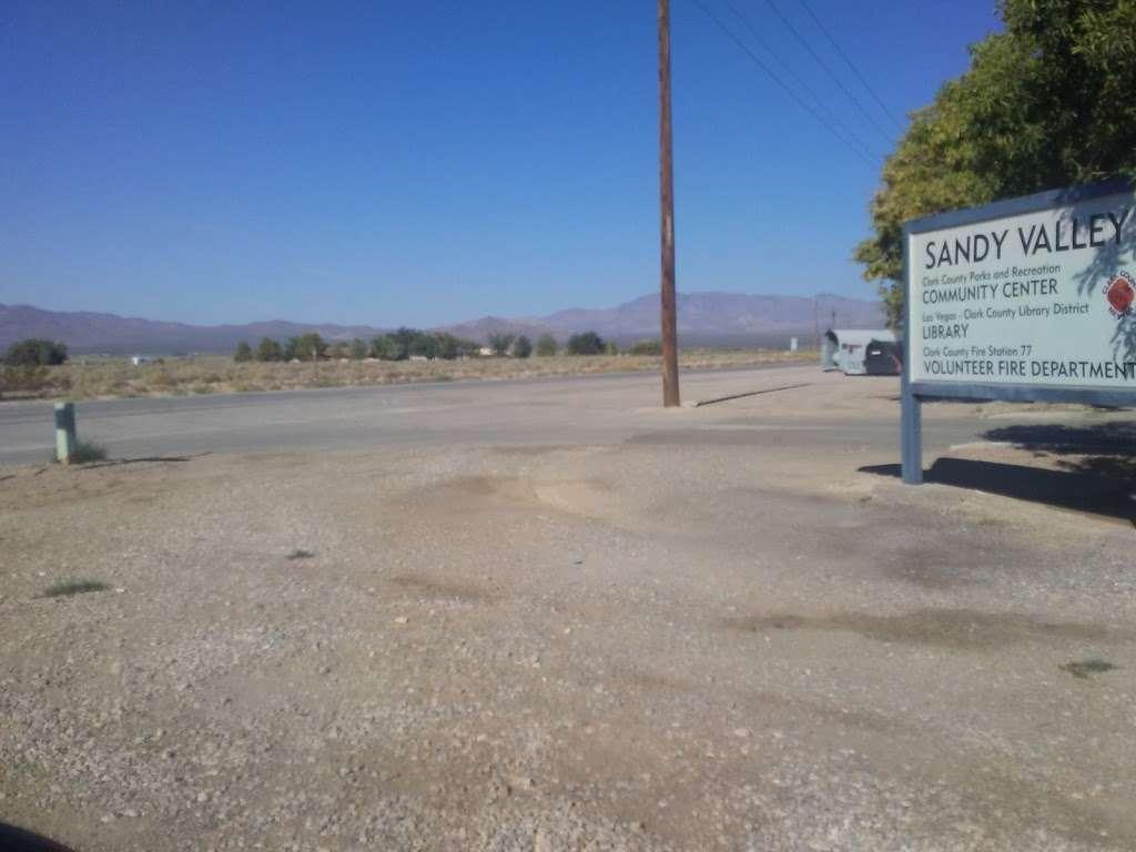 Sandy Valley Library - library  | Photo 4 of 7 | Address: 650 W Quartz Ave, Sandy Valley, NV 89019, USA | Phone: (702) 723-5333