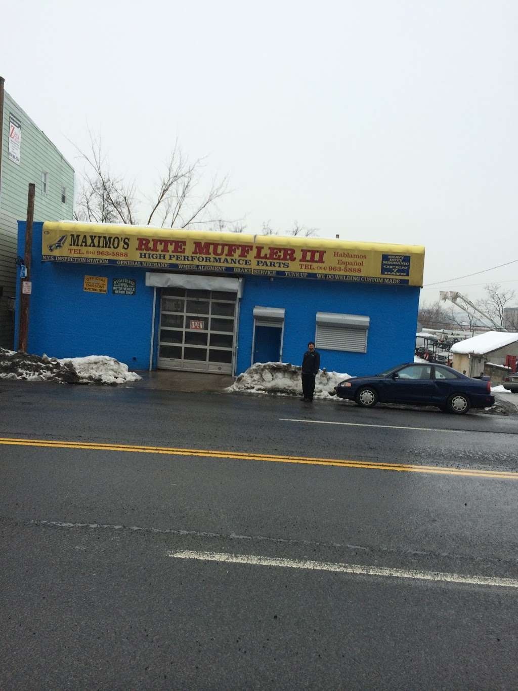 Maximos Rite Muffler II Inc - car repair  | Photo 5 of 9 | Address: 2379 E Tremont Ave, The Bronx, NY 10462, USA | Phone: (718) 239-9818