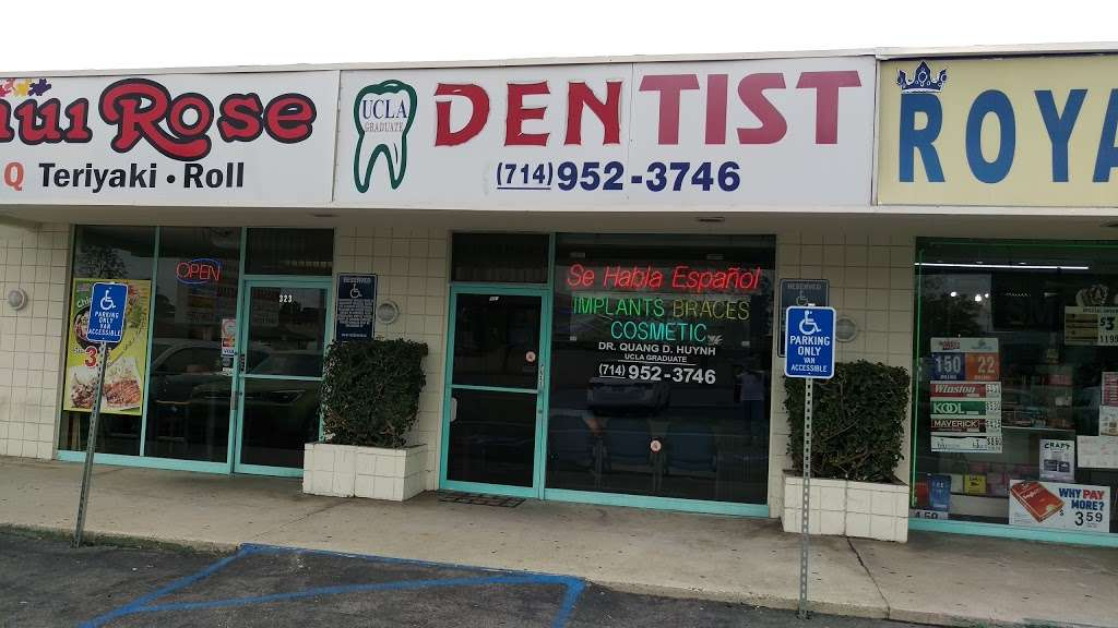 Huynh Quang DDS - dentist  | Photo 1 of 1 | Address: 321 S Magnolia St, Anaheim, CA 92804, USA | Phone: (714) 280-3355