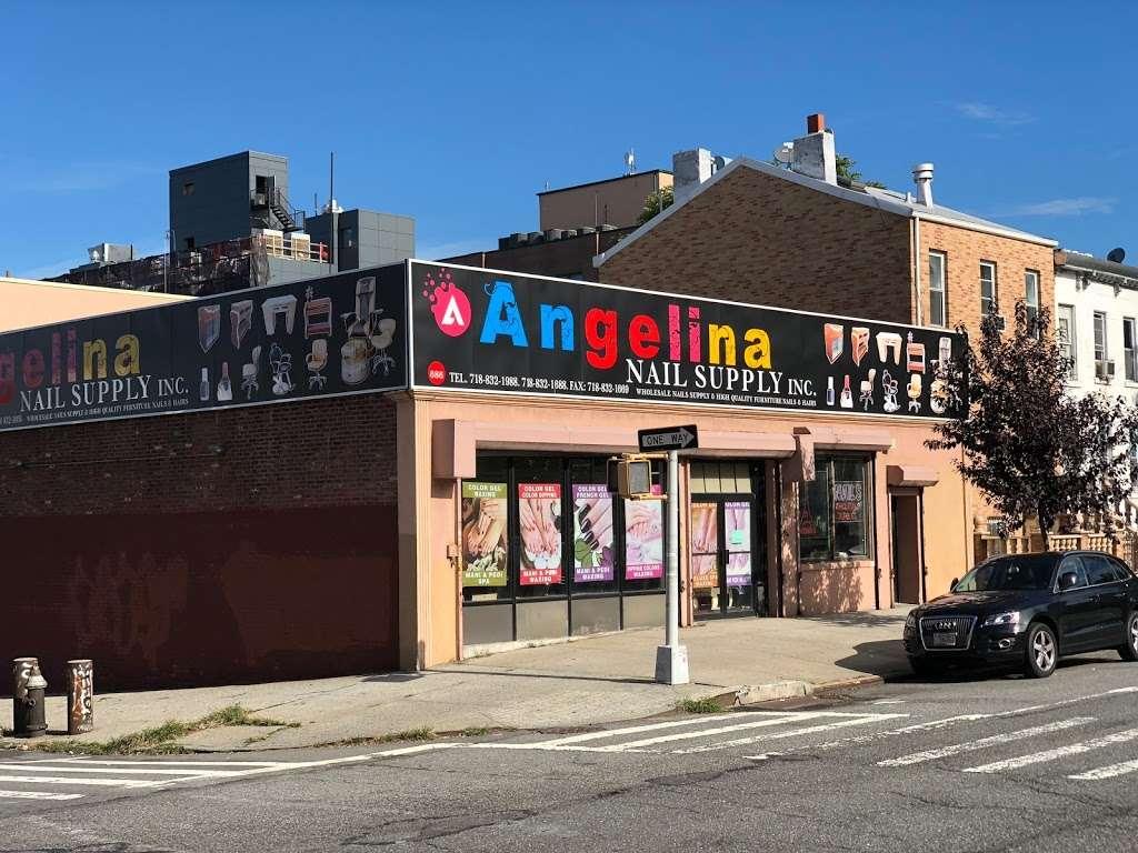Angelina Nail Supply Inc. - store  | Photo 2 of 7 | Address: 686 4th Ave, Brooklyn, NY 11232, USA | Phone: (718) 832-1688