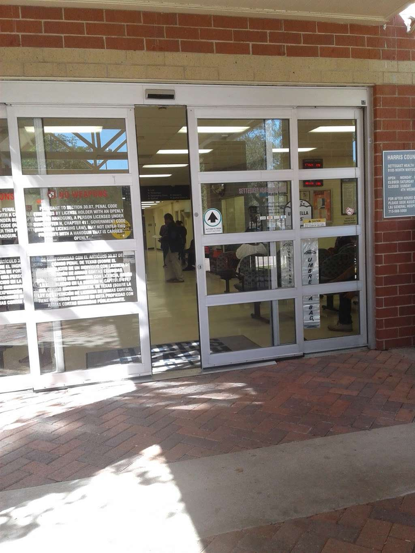 Harris County Hospital Settegast - doctor    Photo 1 of 10   Address: 9105 N Wayside Dr, Houston, TX 77028, USA   Phone: (713) 633-2020