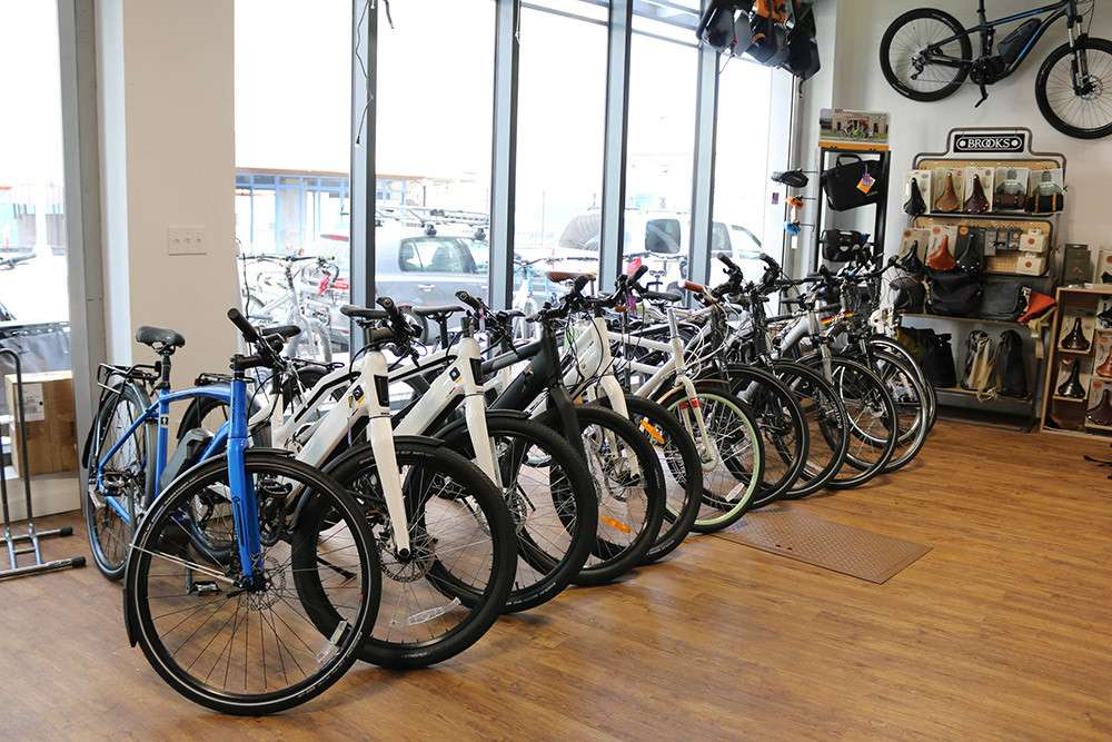 Propel Electric Bikes - bicycle store  | Photo 5 of 10 | Address: 134 Flushing Ave, Brooklyn, NY 11205, USA | Phone: (718) 643-4542