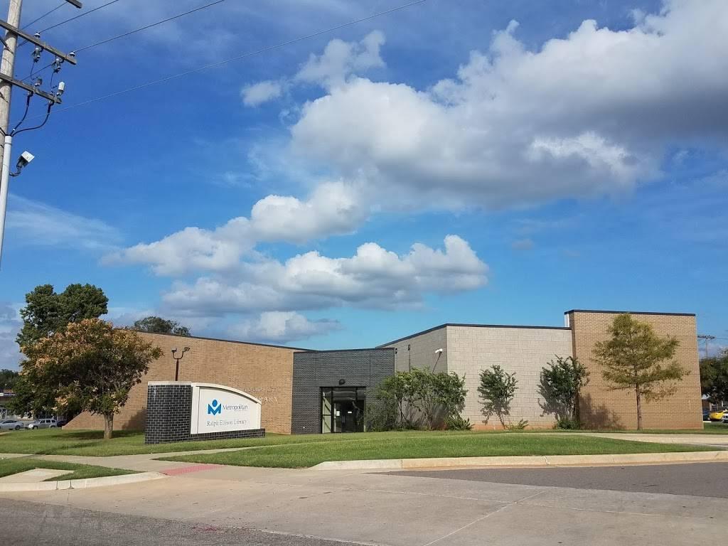 Metropolitan Library System - Ralph Ellison Library - library  | Photo 7 of 7 | Address: 2000 NE 23rd St, Oklahoma City, OK 73111, USA | Phone: (405) 424-1437