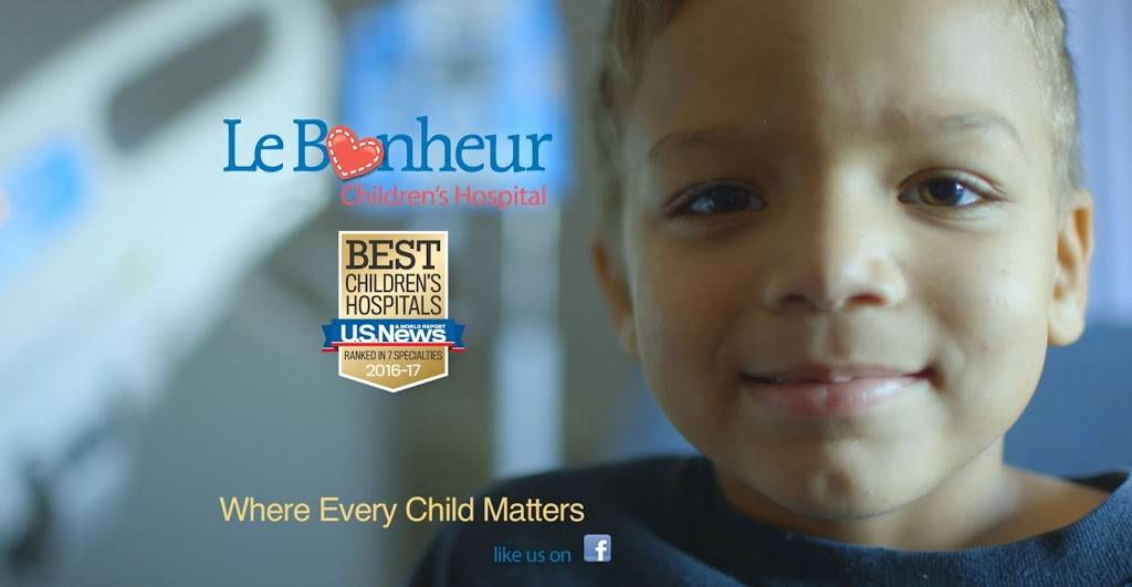 Le Bonheur Childrens Outpatient Rehabilitation - hospital  | Photo 1 of 4 | Address: 980 Poplar Ave, Memphis, TN 38105, USA | Phone: (866) 870-5570