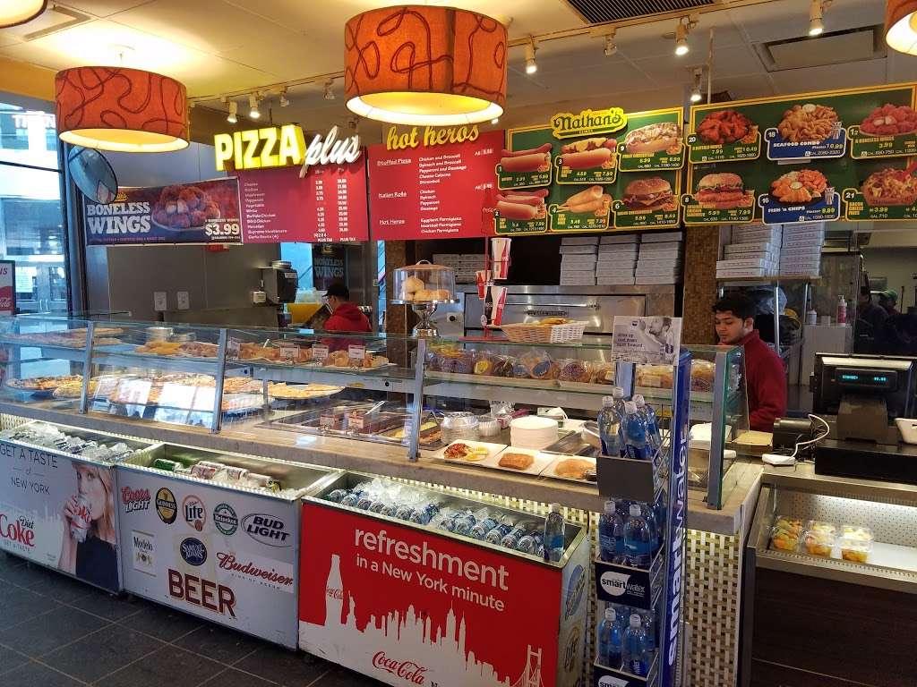 Pizza Plus - restaurant  | Photo 1 of 10 | Address: 4 South St, New York, NY 10004, USA | Phone: (212) 943-1800