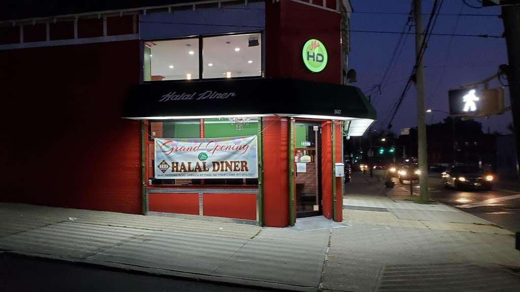 HALAL DINER - restaurant    Photo 4 of 10   Address: 8447 Parsons Blvd, Jamaica, NY 11432, USA   Phone: (718) 674-6969