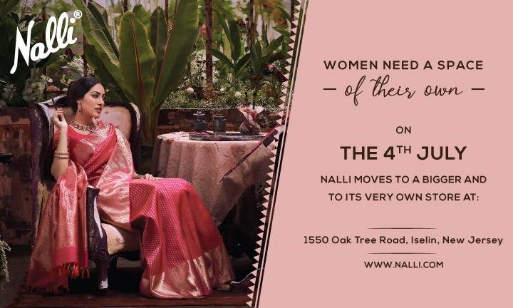 Nalli Silk Sarees - New Jersey USA - store    Photo 3 of 7   Address: 1550 Oak Tree Rd, Iselin, NJ 08830, USA   Phone: (732) 874-5791