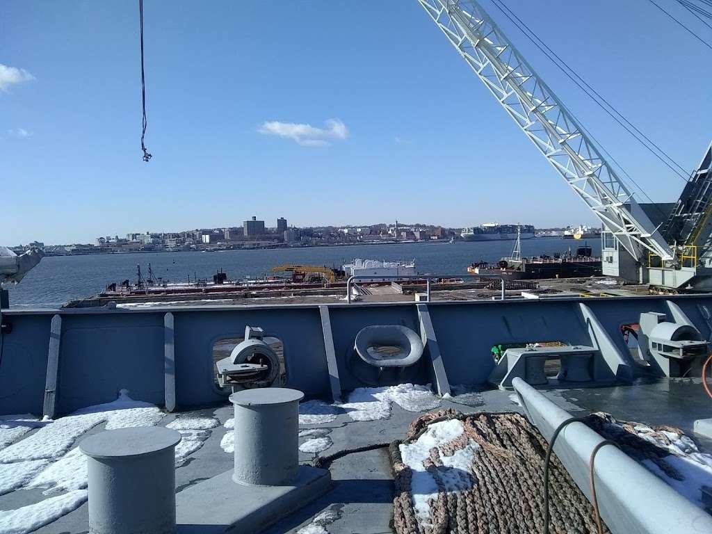 Bayonne Dry-Dock & Repair Inc - store  | Photo 2 of 10 | Address: 100 Military Ocean Term St, Bayonne, NJ 07002, USA | Phone: (201) 823-9295