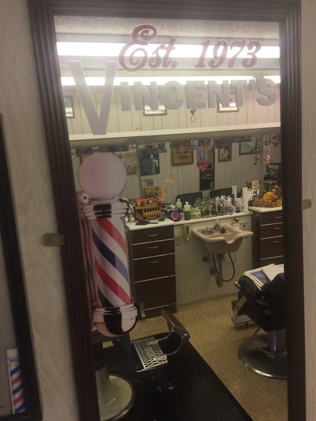 Vincents Barber Salon - hair care  | Photo 1 of 1 | Address: 900 54th Ave N, St. Petersburg, FL 33703, USA | Phone: (727) 525-8813