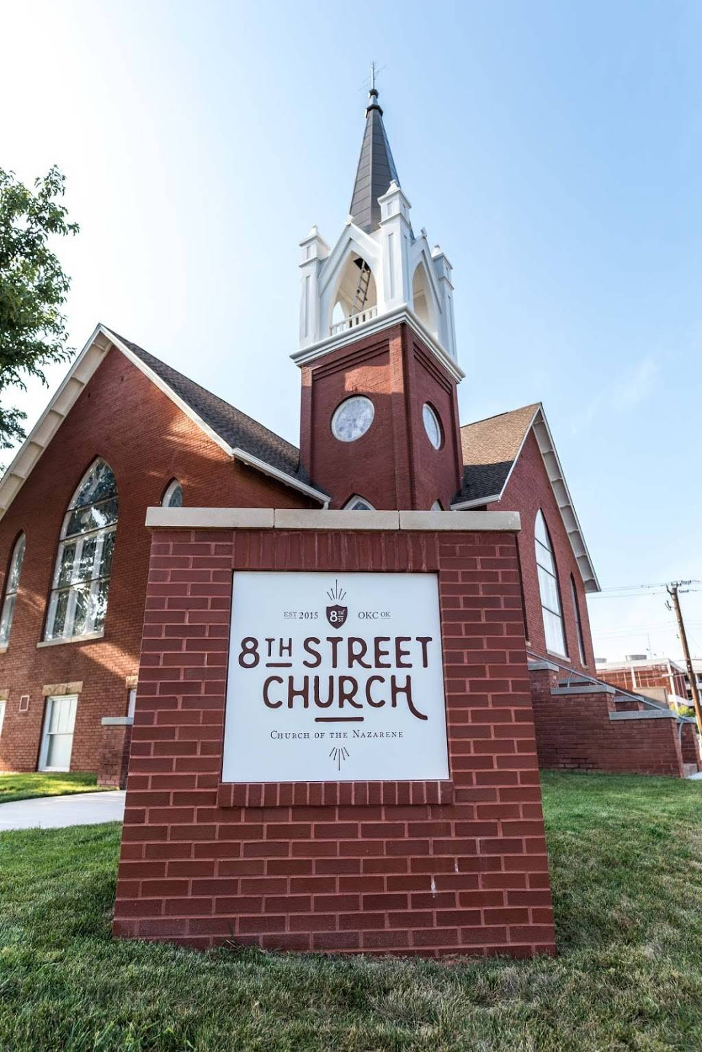 8th Street Church of the Nazarene - church    Photo 10 of 10   Address: 701 NW 8th St, Oklahoma City, OK 73102, USA   Phone: (405) 896-0283