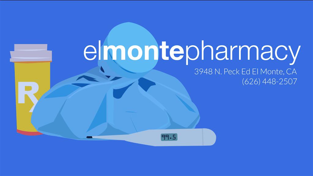 El Monte Pharmacy - pharmacy    Photo 4 of 5   Address: 3948 Peck Rd, El Monte, CA 91732, USA   Phone: (626) 448-2507