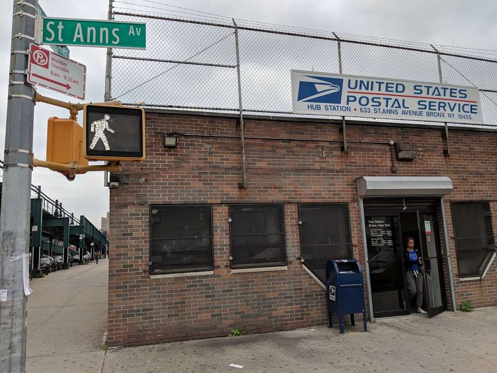 United States Postal Service - post office  | Photo 1 of 8 | Address: 633 St Anns Ave, Bronx, NY 10455, USA | Phone: (800) 275-8777