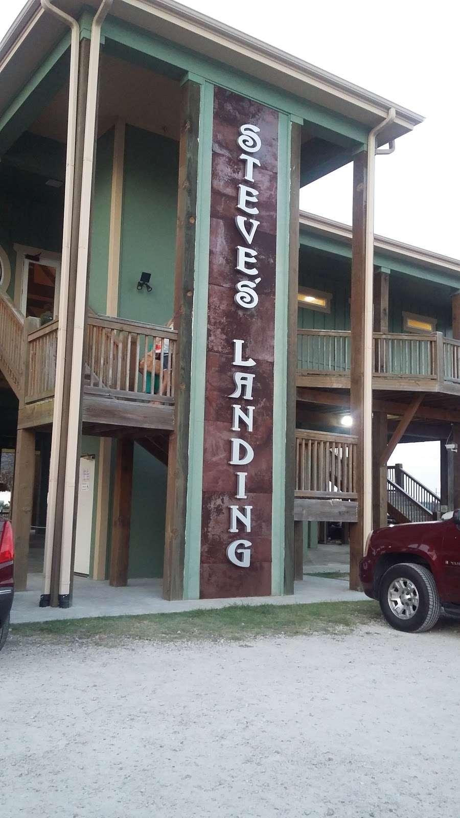 Steves Landing Restaurant - restaurant  | Photo 4 of 10 | Address: 1290 Bay Vue Rd, Crystal Beach, TX 77650, USA | Phone: (409) 684-1999