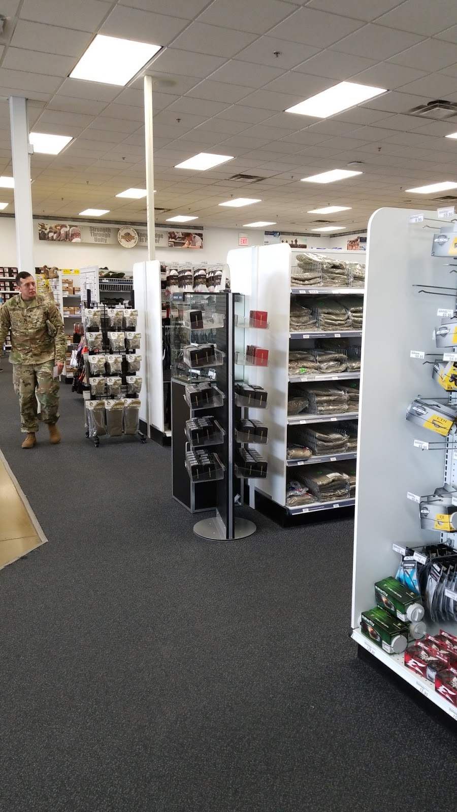 Military Clothing Sales - clothing store  | Photo 1 of 7 | Address: 1614 Pike Rd, Fort Bliss, TX 79906, USA | Phone: (915) 568-2880
