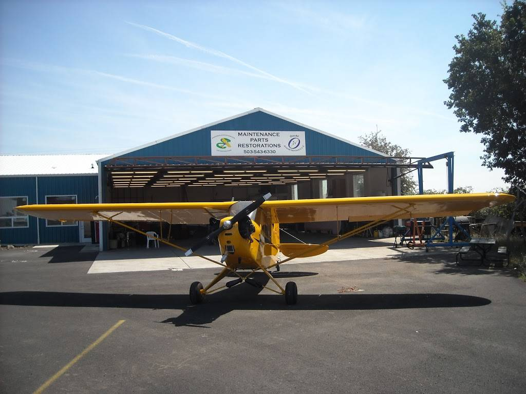 Overall Aircraft Services LLC - store  | Photo 7 of 8 | Address: 53690 Airport Rd, Scappoose, OR 97056, USA | Phone: (503) 543-6330