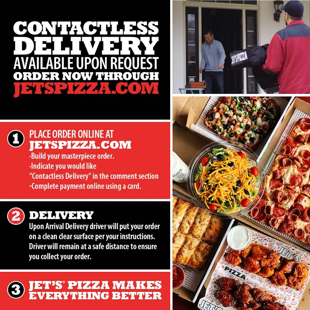Jets Pizza - meal delivery  | Photo 10 of 10 | Address: 5825 Maplecrest Rd, Fort Wayne, IN 46835, USA | Phone: (260) 485-8550
