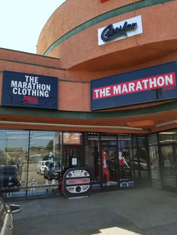 THE MARATHON CLOTHING - clothing store  | Photo 5 of 10 | Address: 3420 W Slauson Ave F, Los Angeles, CA 90043, USA | Phone: (323) 815-4959