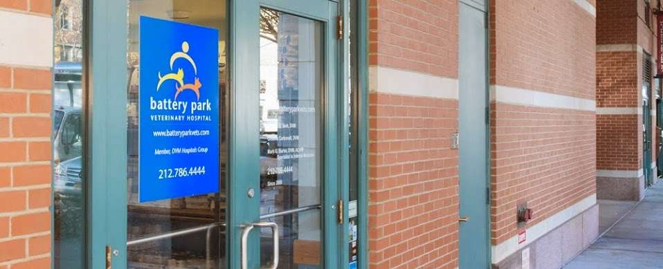 Battery Park Veterinary Hospital - dentist  | Photo 1 of 10 | Address: 21 South End Ave, New York, NY 10280, USA | Phone: (646) 561-9225