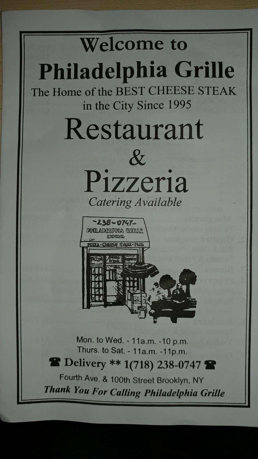 Philadelphia Grille - restaurant  | Photo 3 of 9 | Address: 10004 4th Ave, Brooklyn, NY 11209, USA | Phone: (718) 238-0747