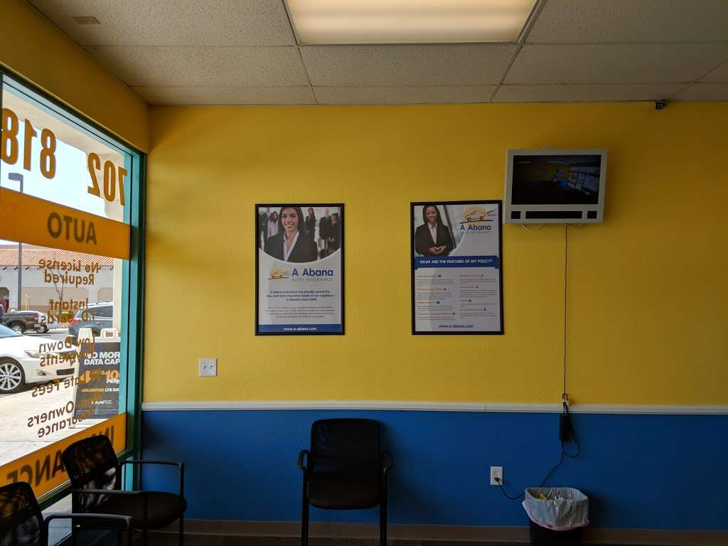 A Abana Auto Insurance - insurance agency  | Photo 5 of 6 | Address: 1445 N Jones Blvd, Las Vegas, NV 89108, USA | Phone: (702) 818-8161