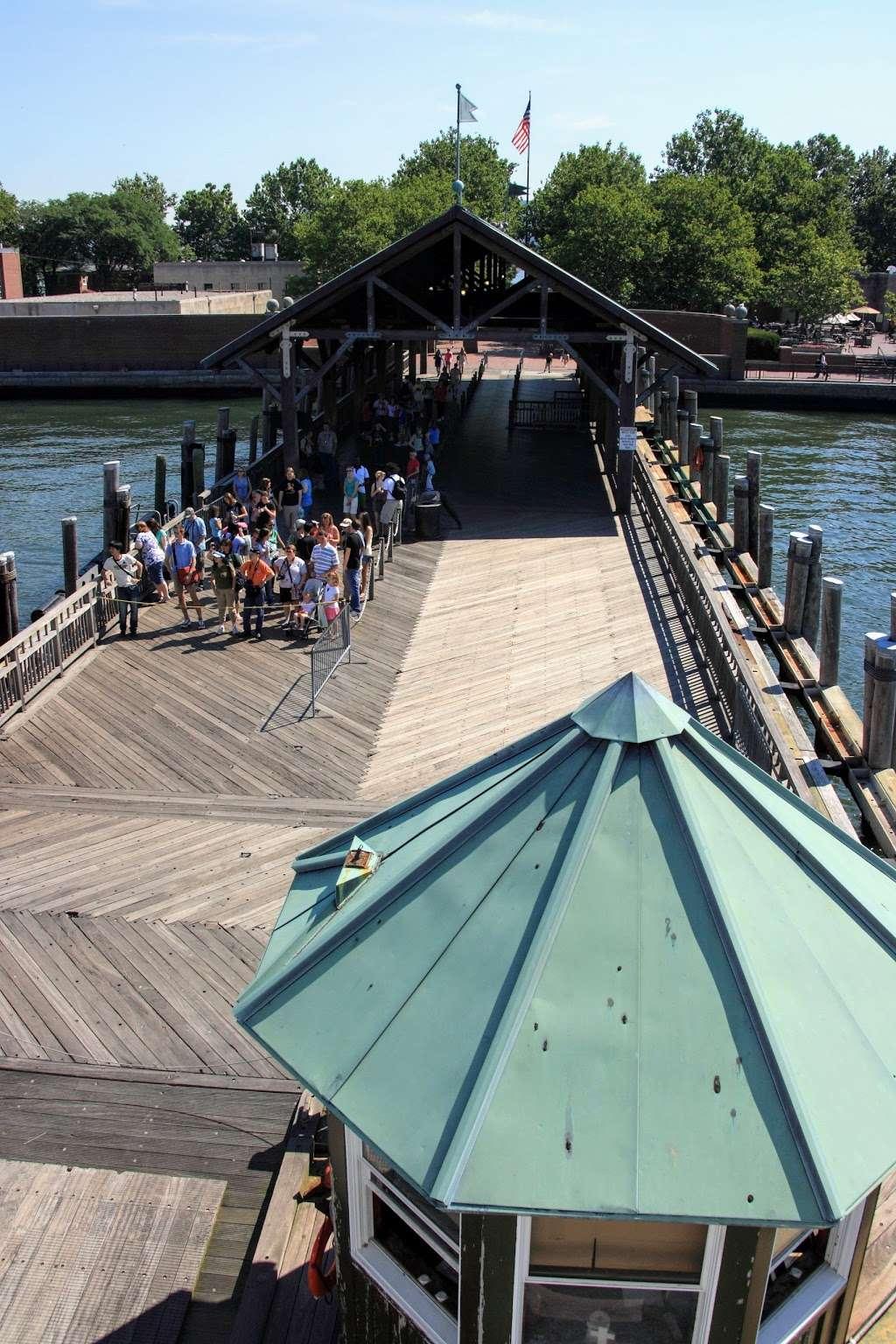 Liberty Island Ferry - transit station  | Photo 9 of 10 | Address: 1 Audrey Zapp Dr, Jersey City, NJ 07305, USA | Phone: (201) 604-2800