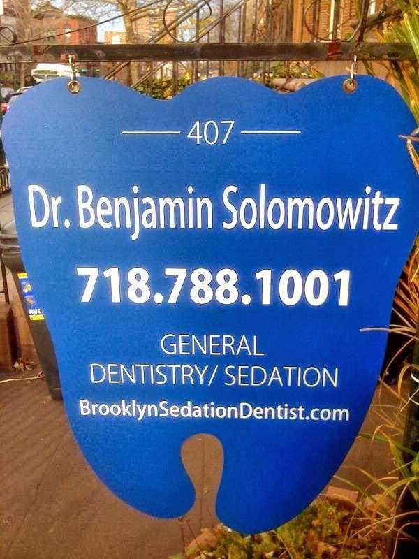 Dr. Benjamin Solomowitz - dentist    Photo 6 of 9   Address: 407 9th St, Brooklyn, NY 11215, USA   Phone: (718) 878-4871