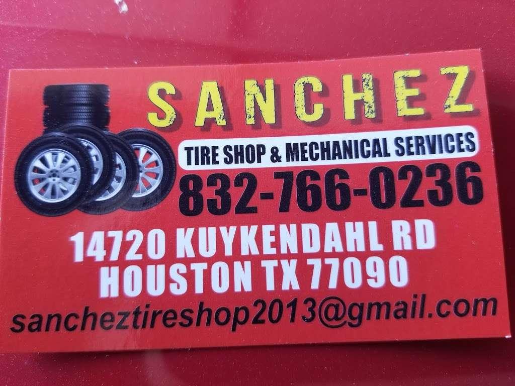 Sanchez Tire Shop - car repair  | Photo 8 of 8 | Address: 14720 Kuykendahl Rd, Houston, TX 77090, USA | Phone: (832) 766-0236