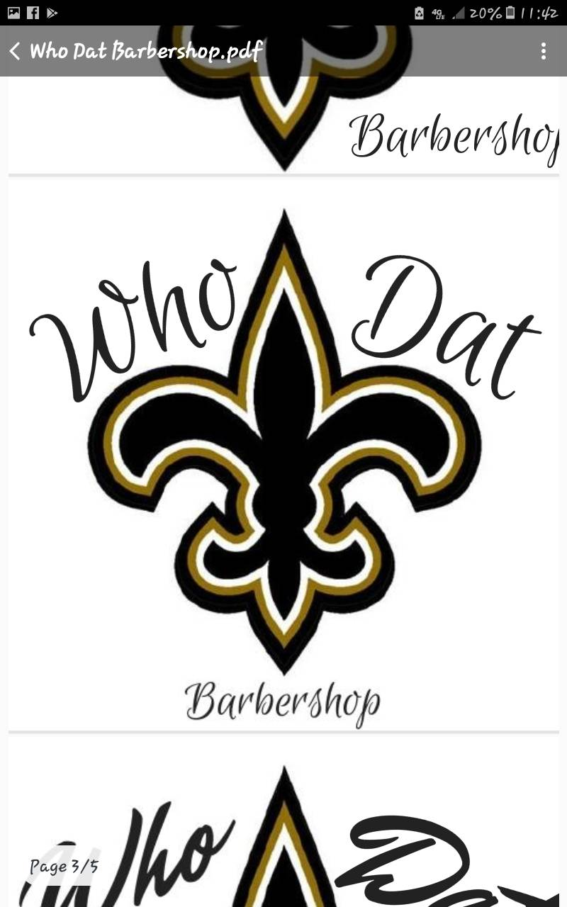 WHO DAT BarberShop Inc. - hair care  | Photo 10 of 10 | Address: 5741 Crowder Blvd a8, New Orleans, LA 70127, USA | Phone: (504) 246-4446