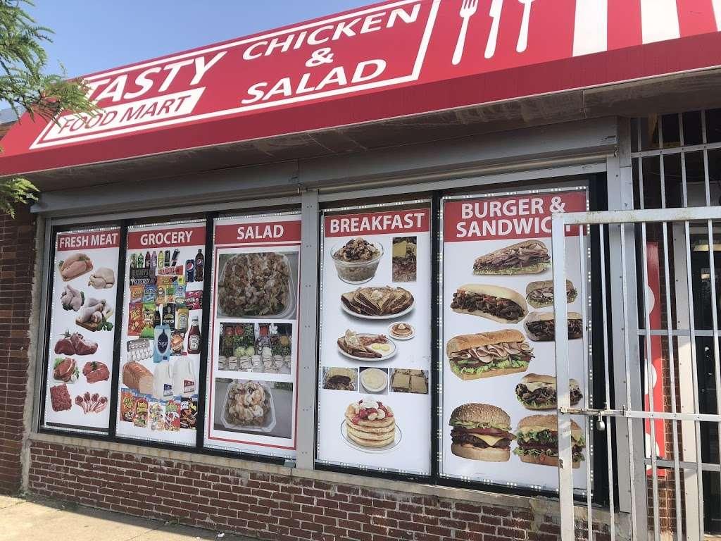 Tasty Chicken & Salad - restaurant    Photo 1 of 10   Address: 159 W 95th St, Chicago, IL 60628, USA   Phone: (773) 840-3114