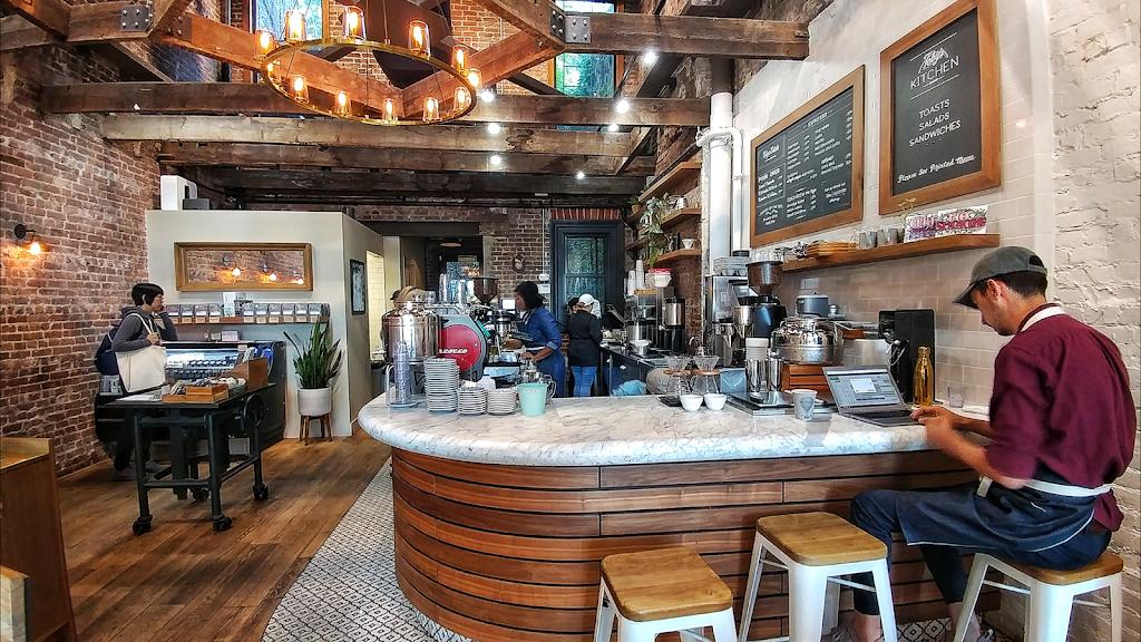 Tobys Estate LIC Cafe & Courtyard - cafe  | Photo 5 of 10 | Address: 26-25 Jackson Ave, Long Island City, NY 11101, USA | Phone: (347) 531-0477