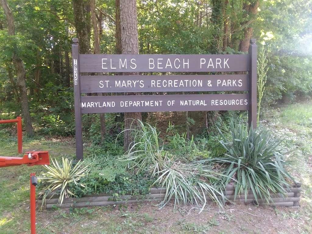 Elms Beach Park - park    Photo 5 of 10   Address: 19350 Back Door Rd, Lexington Park, MD 20653, USA   Phone: (301) 475-4200