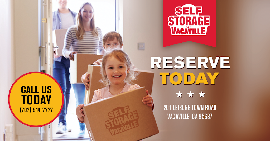 Self Storage of Vacaville - moving company  | Photo 7 of 9 | Address: 201 Leisure Town Rd, Vacaville, CA 95687, USA | Phone: (707) 840-5599