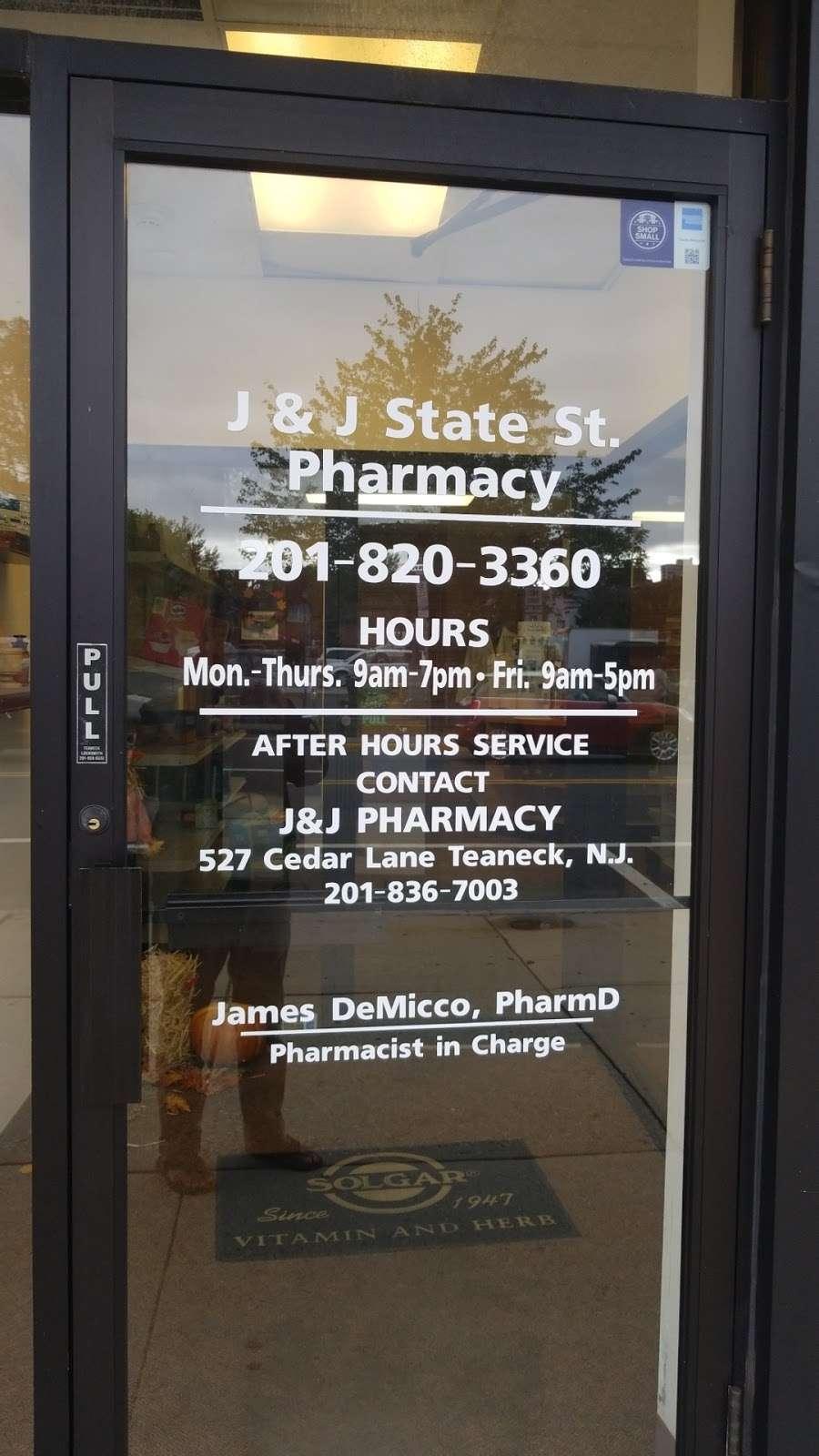 J&J Pharmacy - pharmacy  | Photo 2 of 2 | Address: 298 State St, Hackensack, NJ 07601, USA | Phone: (201) 820-3360
