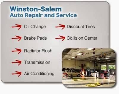 Frank Myers Auto Maxx Service & Repair - car repair  | Photo 4 of 10 | Address: 4200 N Patterson Ave, Winston-Salem, NC 27105, USA | Phone: (336) 831-0656