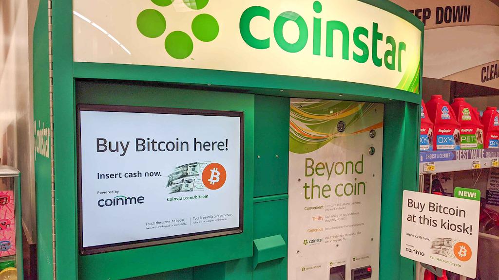 Coinme at Coinstar - Bitcoin Kiosk - atm  | Photo 1 of 2 | Address: Market Street, 4425 19th St, Lubbock, TX 79407, USA | Phone: (800) 944-3405