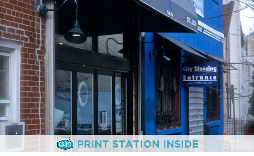 PrintWithMe Print Kiosk at Blue Cups - store  | Photo 3 of 5 | Address: 38 61st St #4, Woodside, NY 11377, USA | Phone: (773) 797-2118