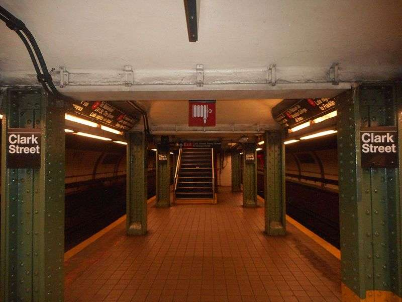 Clark Street Subway Station - subway station  | Photo 4 of 10 | Address: Brooklyn, NY 11201, USA