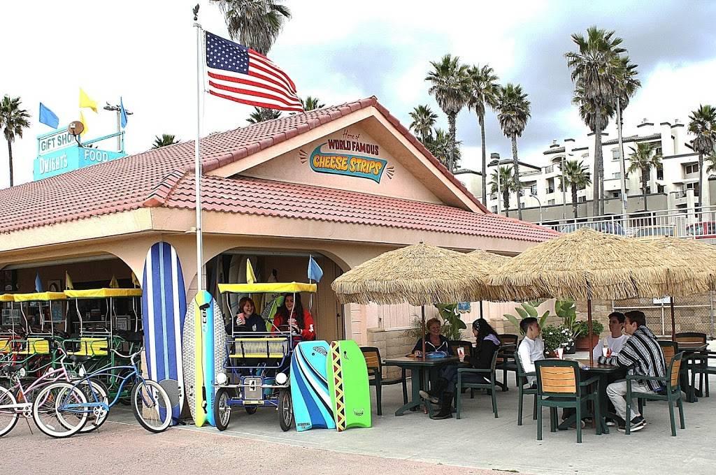 Dwights Beach Concession - restaurant  | Photo 1 of 9 | Address: 201 Pacific Coast Hwy One Block South of the, On the Boardwalk, Huntington Beach Pier, Huntington Beach, CA 92648, USA | Phone: (714) 536-8083