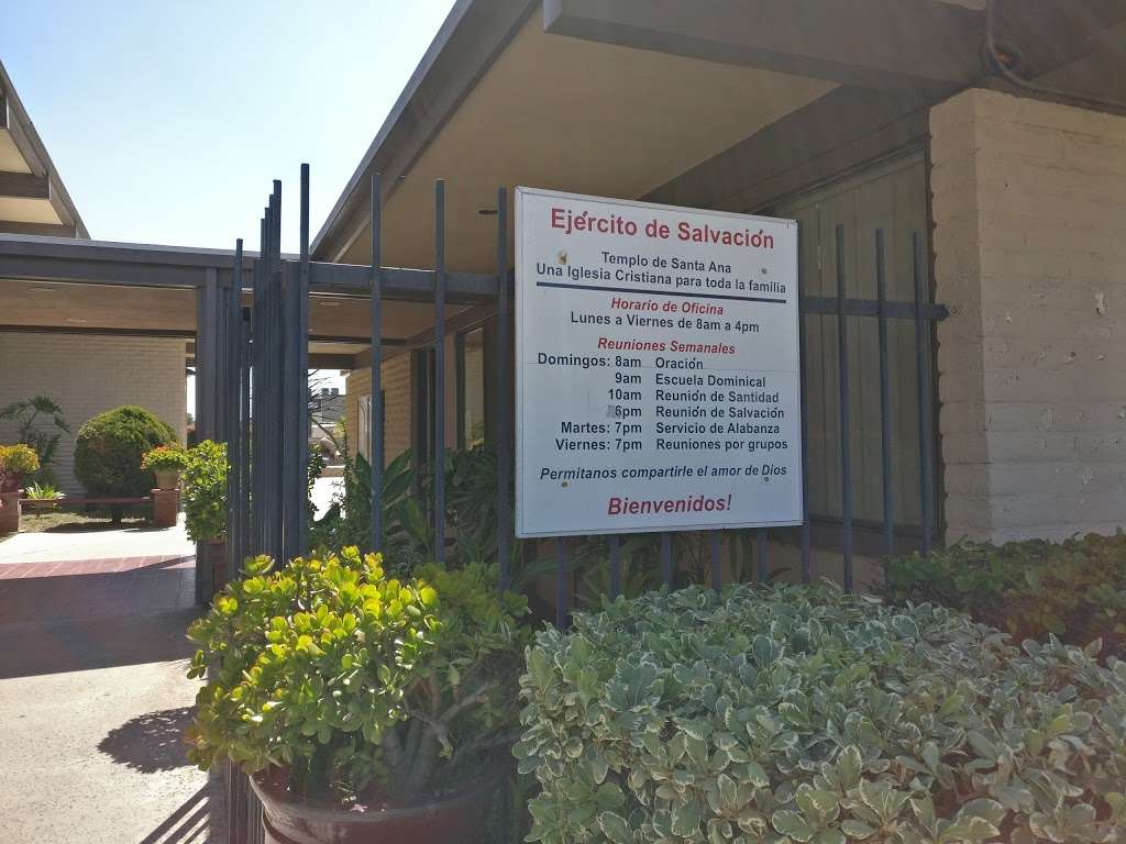 Salvation Army Church - church  | Photo 7 of 10 | Address: 1710 W Edinger Ave, Santa Ana, CA 92704, USA | Phone: (714) 545-2937