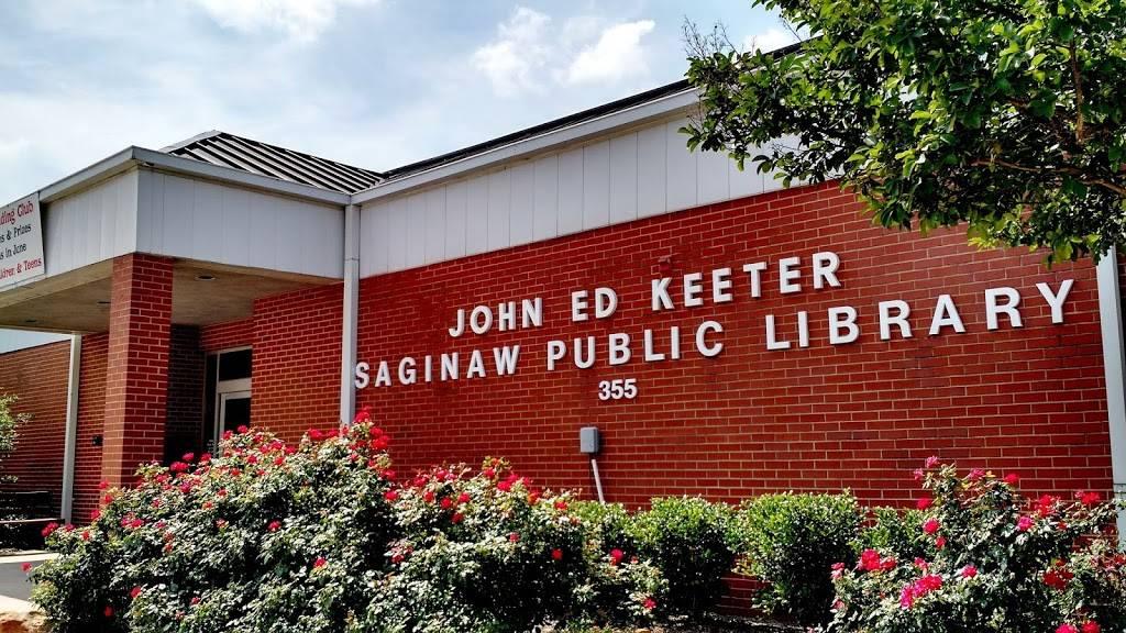 John Ed Keeter Public Library - library  | Photo 1 of 10 | Address: 355 W McLeroy Blvd, Saginaw, TX 76179, USA | Phone: (817) 230-0300