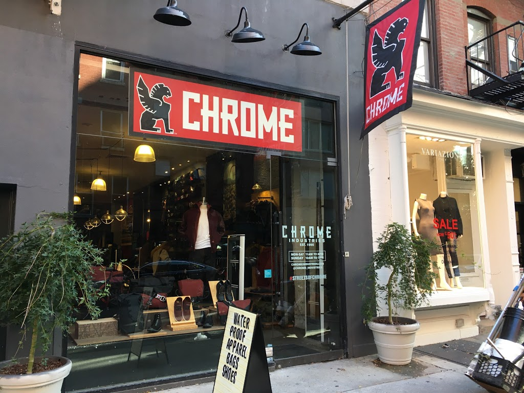 Chrome Industries - New York City - clothing store  | Photo 3 of 10 | Address: 238 Mulberry St, New York, NY 10012, USA | Phone: (646) 792-7835