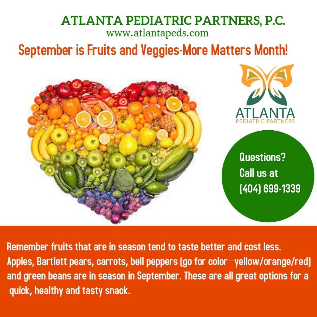 Atlanta Pediatric Partners, PC. - hospital  | Photo 3 of 7 | Address: 4579 S Cobb Dr SE Suite 300, Smyrna, GA 30080, USA | Phone: (404) 699-1339