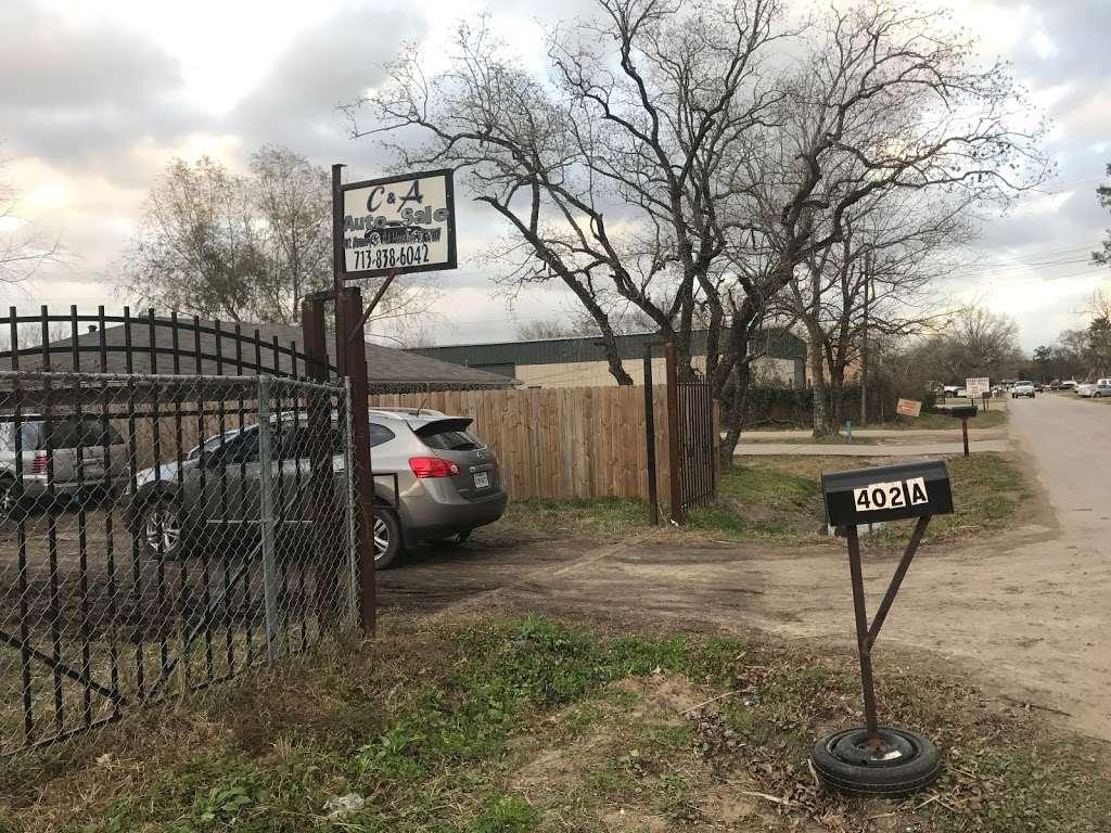 C&A Auto Sale - car dealer  | Photo 1 of 5 | Address: 14117 Reeveston Rd, Houston, TX 77039, USA | Phone: (832) 881-1306