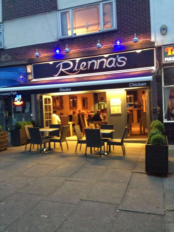 Riennas Restaurant - restaurant  | Photo 3 of 10 | Address: 210-176, A124, Hornchurch RM12 6QP, UK | Phone: 01708 469463