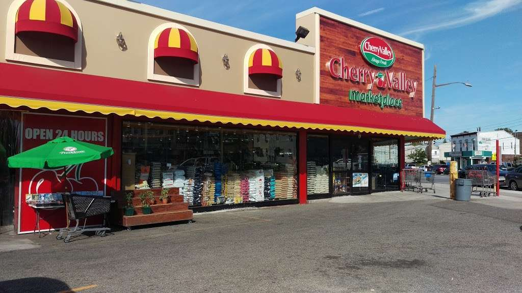 Cherry Valley Marketplace - supermarket    Photo 1 of 10   Address: 84-12 97th Ave, Jamaica, NY 11416, USA   Phone: (718) 529-6822