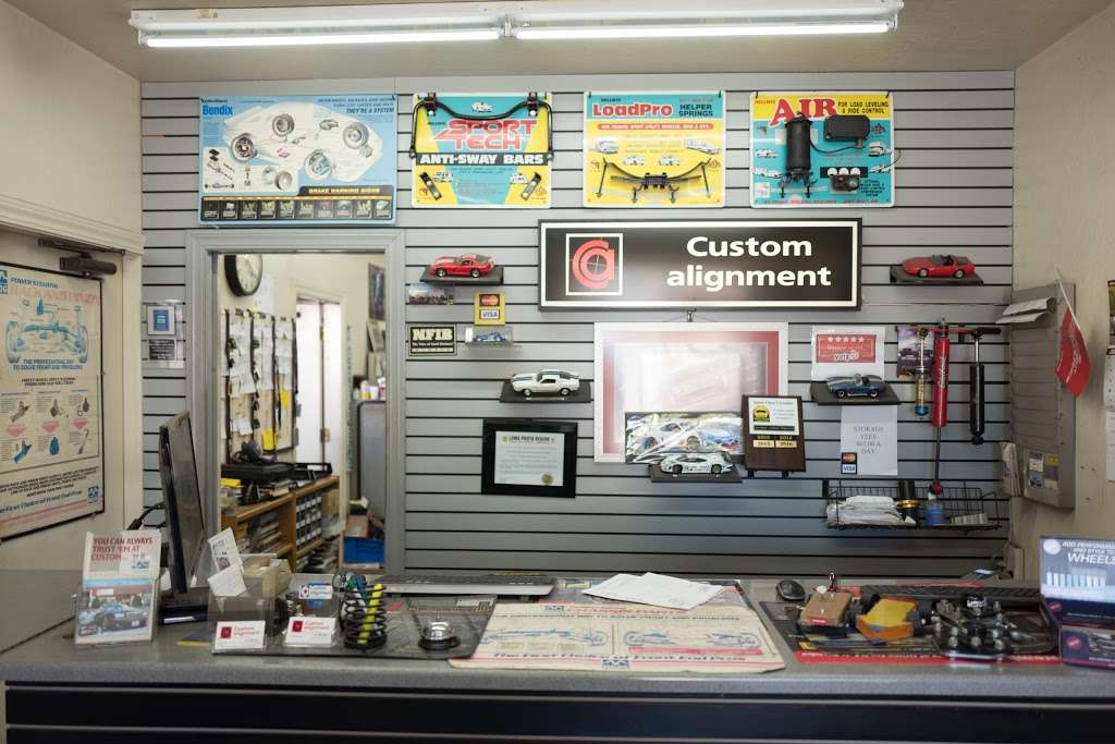 Custom Alignment Balance and Brakes - car repair  | Photo 1 of 10 | Address: 2599 Wyandotte St, Unit A, Mountain View, Ca 94043, Mountain View, CA 94043, USA | Phone: (650) 961-5311