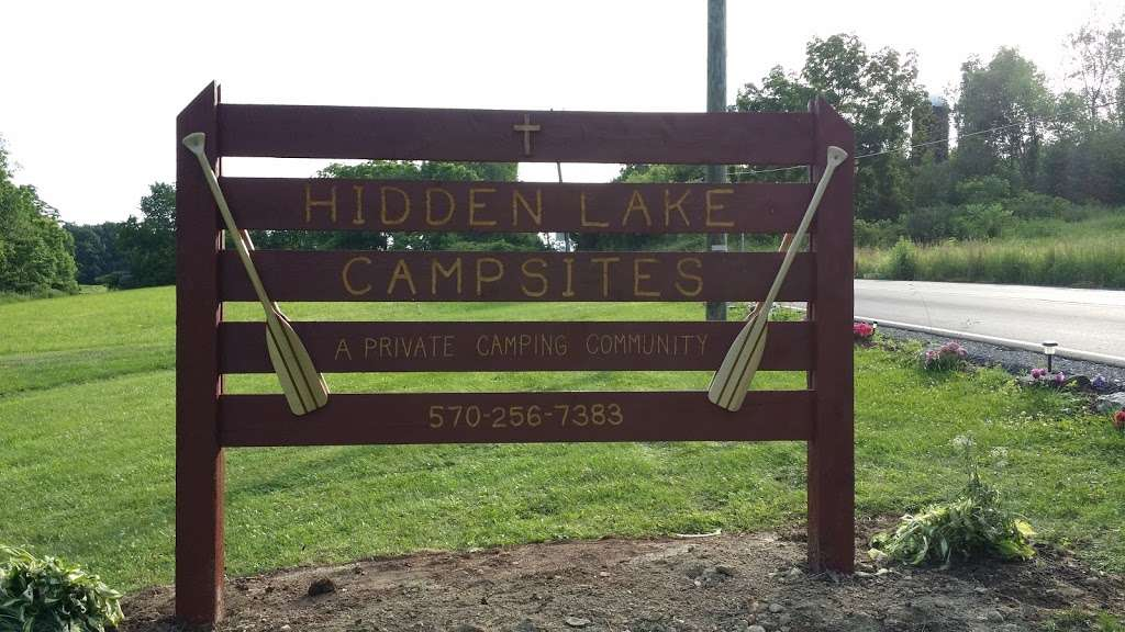 Hidden New Lake Camp Ground - campground  | Photo 2 of 2 | Address: 745 Hunlock-Harveyville Rd, Shickshinny, PA 18655, USA | Phone: (570) 256-7383