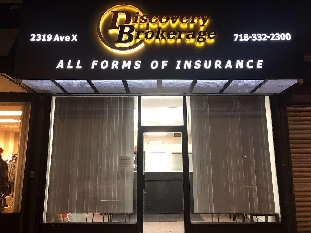 Discovery Brokerage - insurance agency  | Photo 2 of 9 | Address: 2319 Avenue X, Brooklyn, NY 11235, USA | Phone: (718) 332-2300