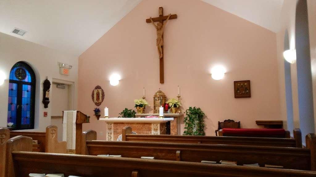 Saint John Vianney Catholic Church   105 Vianney Ln, Prince