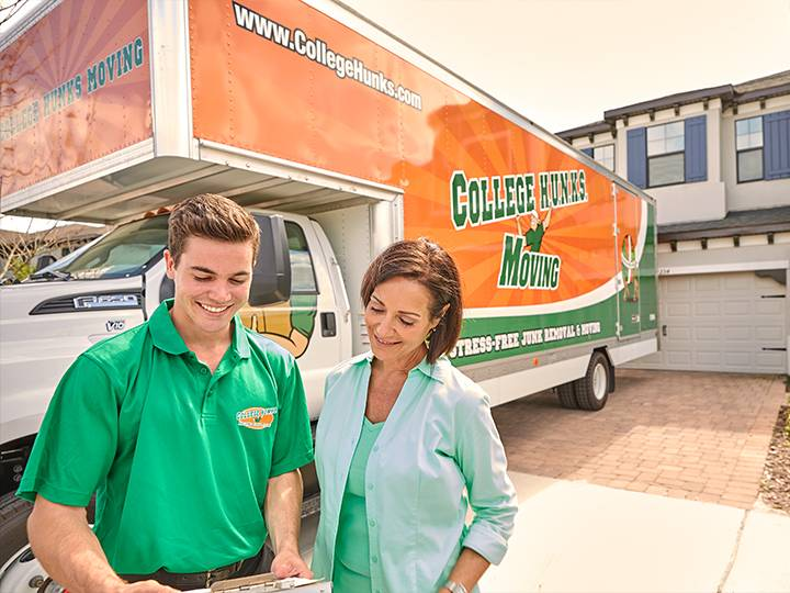 College Hunks Hauling Junk and Moving - moving company  | Photo 3 of 10 | Address: 11801 W Fairview Ave, Wauwatosa, WI 53226, USA | Phone: (414) 436-2909